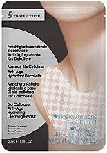 Düfte, Parfümerie und Kosmetik Feuchtigkeitsspendende Anti-Aging Dekolletémaske mit Bio Cellulose - Timeless Truth Bio Cellulose Anti-Age Hydrating Cleavage Mask