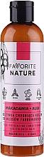 Düfte, Parfümerie und Kosmetik Haarspülung für gefärbtes Haar mit Macadamia und Algen - Favorite Nature Macadamia & Algae