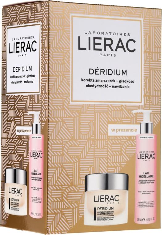 Gesichtspflegeset - Lierac Deridium (Mizellenmilch 200ml + Gesichtscreme 50ml) — Bild N1