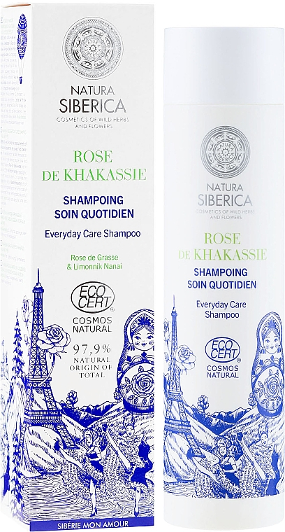 Shampoo für alle Haartypen - Natura Siberica Sibérie Mon Amour Everyday Care Shampoo — Bild N1