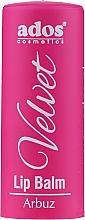 Düfte, Parfümerie und Kosmetik Lippenbalsam Schwarze Johannisbeere - Ados Cosmetics Velvet Lip Balm