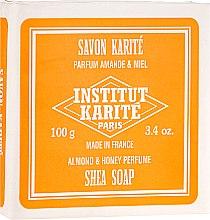 Düfte, Parfümerie und Kosmetik Körperseife mit Mandel, Honig und Sheabutter - Institut Karite Almond and Honey Shea Soap