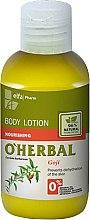 Düfte, Parfümerie und Kosmetik Nährende Körperlotion mit Goji Beeren-Extrakt - O'Herbal Body Lotion (Mini)
