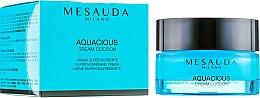 Düfte, Parfümerie und Kosmetik Nährende Gesichtscreme für trockene und normale Haut - Mesauda Milano Aquacious Cream Cocoon