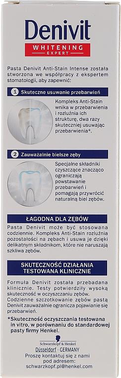 Aufhellende Zahnpasta Anti-Stain Intense - Denivit — Bild N2