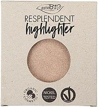 Düfte, Parfümerie und Kosmetik Highlighter Nachfüller - PuroBio Cosmetics Resplendent Highlighter