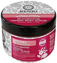Düfte, Parfümerie und Kosmetik Glättendes Körperpeeling - Natura Siberica Arctic Rose&Maharaja Lotus Rejuvenating Herbal Body Scrub