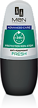 Düfte, Parfümerie und Kosmetik Deo Roll-on Antitranspirant Fresh - AA Men Advance Care Protection Non-Stop 24h Anti-Perspirant Fresh
