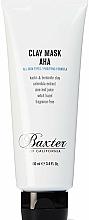Düfte, Parfümerie und Kosmetik Reinigende Tonmaske für das Gesicht mit AHA-Säure - Baxter of California Clay Mask AHA