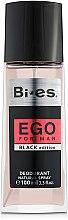 Düfte, Parfümerie und Kosmetik Bi-Es Ego Black Edition - Parfümiertes Körperspray