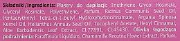 Enthaarungswachsstreifen mit Arganöl - Joanna Sensual Dipilatory Body Strips — Bild N3