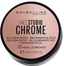 Düfte, Parfümerie und Kosmetik Gel Highlighter - Maybelline Face Studio Chrome Jelly Highlighter