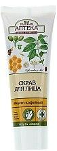 Düfte, Parfümerie und Kosmetik Klärendes Gesichtspeeling mit Aprikosenkernpuder, Honig- und Kaffee-Extrakt - Green Pharmacy