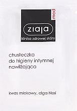 Düfte, Parfümerie und Kosmetik Intim-Pflegetücher mit Milchsäure - Ziaja Med