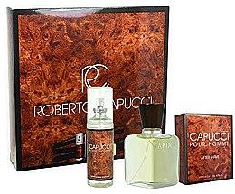 Düfte, Parfümerie und Kosmetik Roberto Capucci Capucci Pour Homme - Duftset (Eau de Toilette 100ml + Körperspray 120ml)