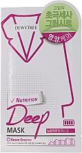 Düfte, Parfümerie und Kosmetik Nährende Tuchmaske mit Bergamotte - Dewytree Nutrition Deep Mask