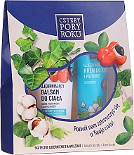 Düfte, Parfümerie und Kosmetik Körperpflegeset - Cztery Pory Roku (Körperlotion 250ml + Handcreme 130ml)