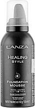 Düfte, Parfümerie und Kosmetik Haarstylingmousse mit Keratin für das Haar - L'anza Healing Style Foundation Mousse