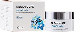 Düfte, Parfümerie und Kosmetik Bio Tagescreme für trockene, empfindliche und gereizte Haut - Organic Life Dermocosmetics Aqua Virtualle Day Cream