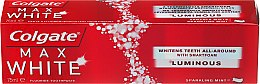 Düfte, Parfümerie und Kosmetik Aufhellende Zahnpasta Max White - Colgate Max White One Luminous