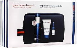 Düfte, Parfümerie und Kosmetik Gesichtspflegeset - Clarins Anti-Aging Set (Gesichtsbalsam 50ml + Shampoo-Gel für Haar und Körper 30ml + Rasieröl 3ml + Kosmetiktasche)