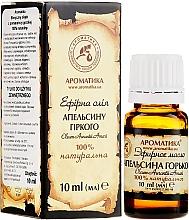 """Düfte, Parfümerie und Kosmetik Ätherisches Öl """"Bitterorange"""" - Aromatika"""