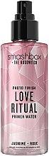 Düfte, Parfümerie und Kosmetik Gesichtsprimer-Spray mit Kristallpartikeln Love Ritrual - Smashbox Crystalized Photo Finish Primer Water Love Ritrual