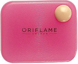 Düfte, Parfümerie und Kosmetik Silikon Make-up Schwamm, rosa - Oriflame