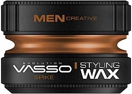 Düfte, Parfümerie und Kosmetik Stylingwachs mit starkem Halt und mattem Finish - Vasso Professional Hair Styling Wax Spike