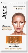 Düfte, Parfümerie und Kosmetik Augenpatches gegen dunkle Ringe - Lirene Dermo Program No Dark Circles