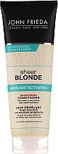 Düfte, Parfümerie und Kosmetik Aufhellender Conditioner für blondes Haar - John Frieda Sheer Blonde Highlight Activating Brightening Conditioner