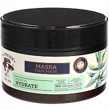 Düfte, Parfümerie und Kosmetik Regenerierende Haarmaske mit Aloe-Saft, Sanddorn und Brennnessel - Mrs. Potter's Triple Herb Hydrate