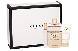 Düfte, Parfümerie und Kosmetik Gucci Guilty Pour Femme - Duftset (Eau de Parfum 90ml + Eau de Toilette 7,4ml + Körperlotion 50ml)