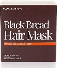 Düfte, Parfümerie und Kosmetik Stärkende Haarmaske für mehr Glanz - Natura Siberica Fresh Spa Russkaja Bania Detox Black Bread Hair Mask