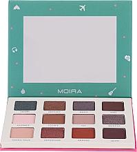 Düfte, Parfümerie und Kosmetik Lidschattenpalette - Moira Happy Go, Fly, Travel Shadow Palette