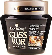 Düfte, Parfümerie und Kosmetik Regenerierende Haarmaske mit Keratin - Schwarzkopf Gliss Kur Ultimate Repair Mask