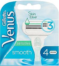 Düfte, Parfümerie und Kosmetik Ersatzklingen 4 St. - Gillette Venus Smooth Sensitive
