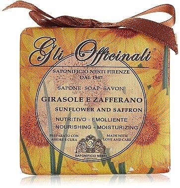 Naturseife Sunflower & Saffron - Nesti Dante Nourishing & Moisturizing Soap Gli Officinali Collection  — Bild N1