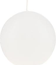 Düfte, Parfümerie und Kosmetik Rustik-Kugelkerze weiß - Bolsius Ball Candle Rustic Ø 80 mm