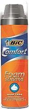 Düfte, Parfümerie und Kosmetik Rasierschaum - Bic Comfort Foam Sensitive