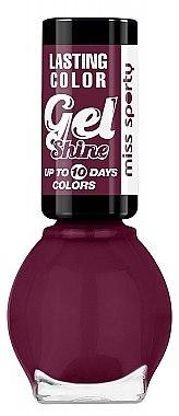 Nagellack - Miss Sporty Lasting Colour Gel Shine Nail Polish — Bild N1