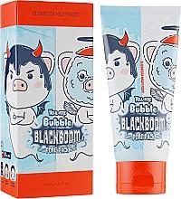 Düfte, Parfümerie und Kosmetik Tief porenreinigende Gesichtsmaske mit Aktivkohlepulver - Elizavecca Hell-Pore Bubble Blackboom Pore Pack