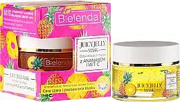 Düfte, Parfümerie und Kosmetik Revitalisierende Gesichtsmaske mit Ananas und Vitamin C - Bielenda Juicy Jelly Mask