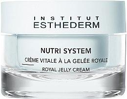 Düfte, Parfümerie und Kosmetik Nährende Gesichtscreme mit Gelée Royale - Institut Esthederm Nutri System Royal Jelly Cream