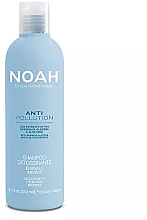 Düfte, Parfümerie und Kosmetik Feuchtigkeitsspendendes Reinigungsshampoo mit Aloe Vera-Extrakt und Moringaöl - Noah Anti Pollution Detox Shampoo
