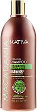 Feuchtigkeitsspendendes Shampoo für normales und strapaziertes Haar - Kativa Macadamia Hydrating Shampoo — Bild N3