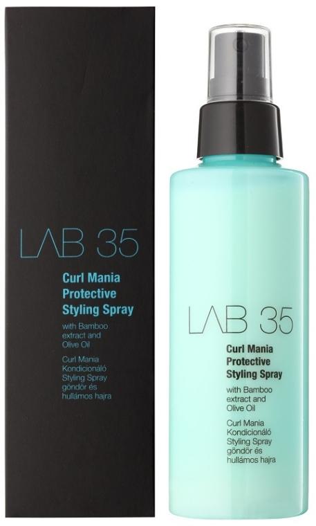 Locken Haarspray mit Bamboo Extrakt und Olivenöl - Kallos Cosmetics Lab 35 Curl Spray — Bild N1
