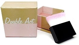 Düfte, Parfümerie und Kosmetik Bronzepuder & Rouge - W7 Double Act Powder