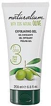 Düfte, Parfümerie und Kosmetik Körpergel-Peeling mit Olivenöl - Naturalium Gel Exfoliante Oliva Natural
