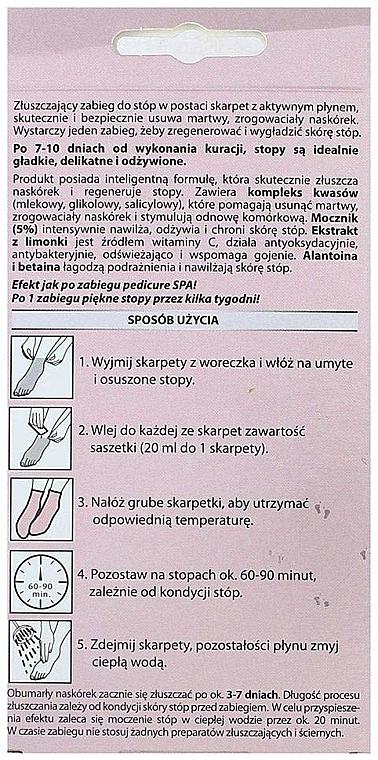 Fuß-Peelingmaske in Socken - Marion SPA Mask — Bild N5